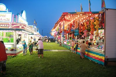 Fairfield Township Community Fest offers various games of chance.